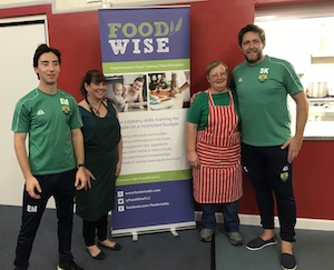 Burpham FC and FoodWise Working Together